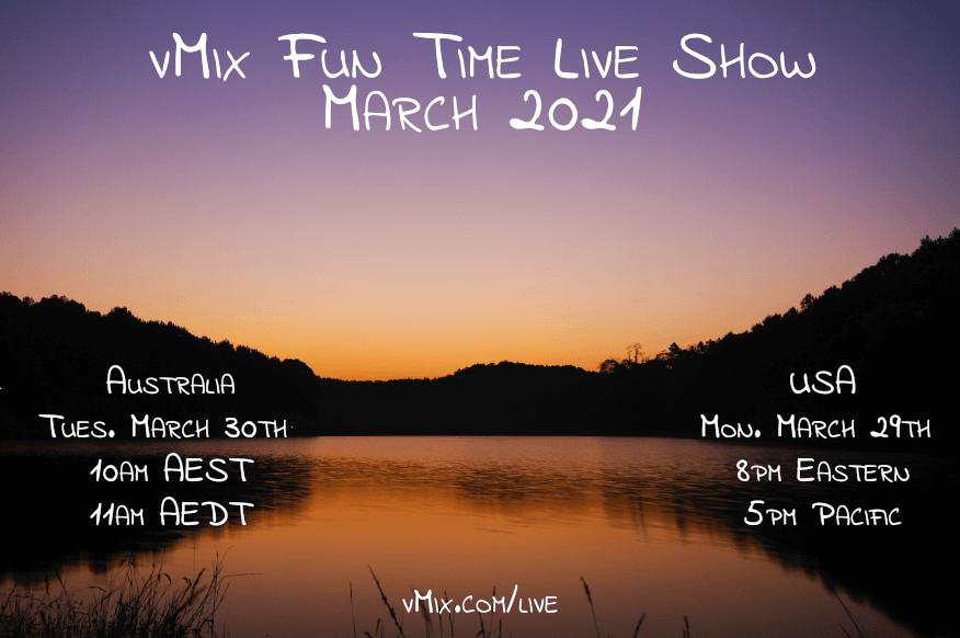 vMix Fun Time Live Show