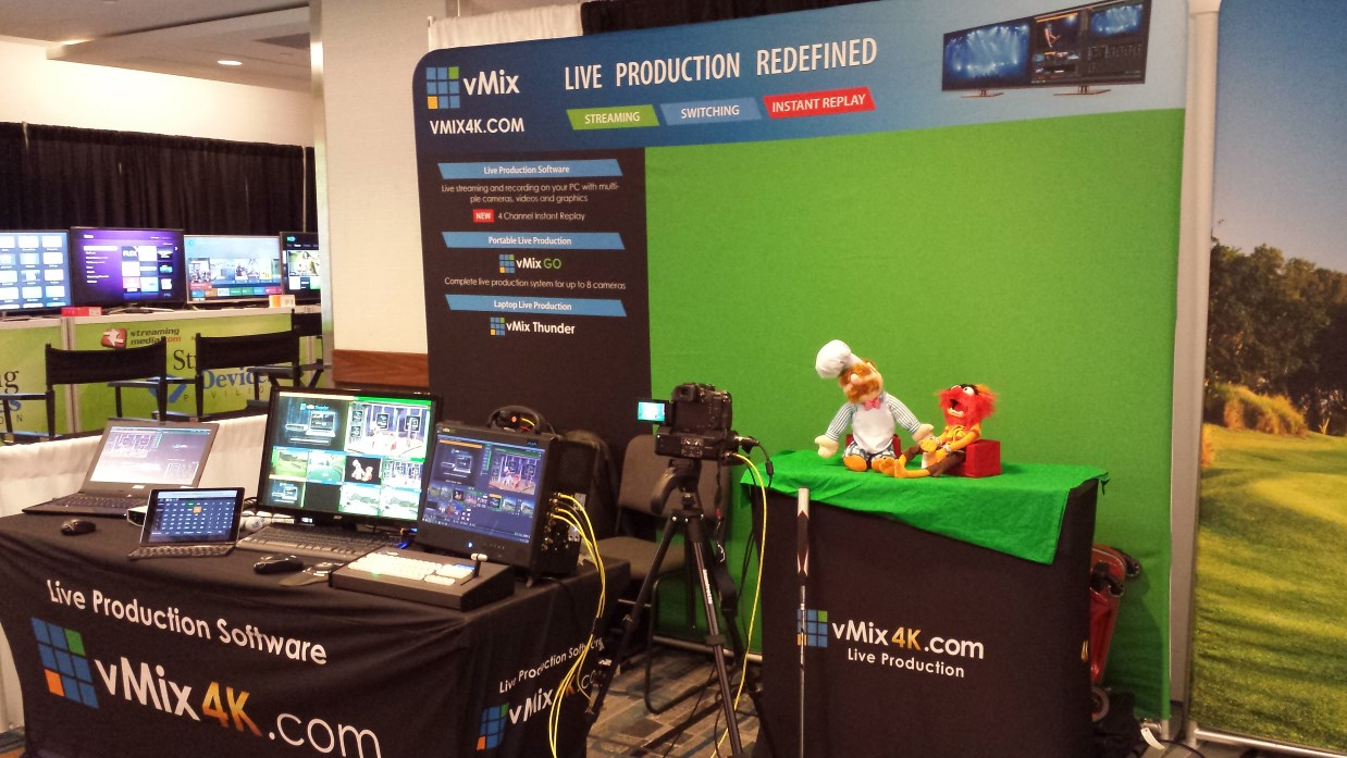 vMix atStreaming Media East 2015