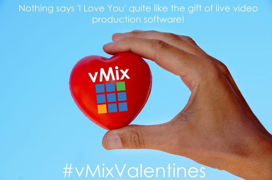 vMix Valentines day