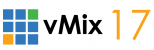 vMix 17 live streaming software