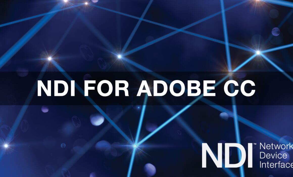 NDI Adobe Premiere vMIx