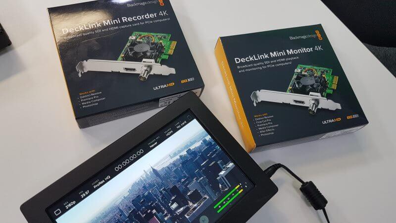 Decklink Mini Recorder 4k By Blackmagic Design Internal Tv Tuner Video Editing Cards