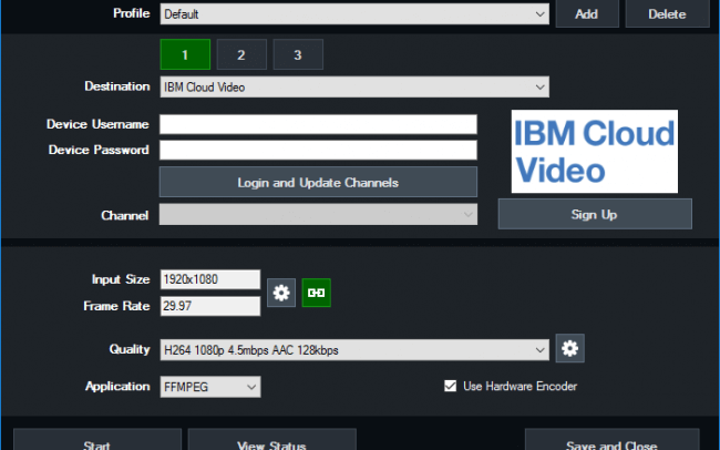 vMix-IBM-Cloud-Video-Interface