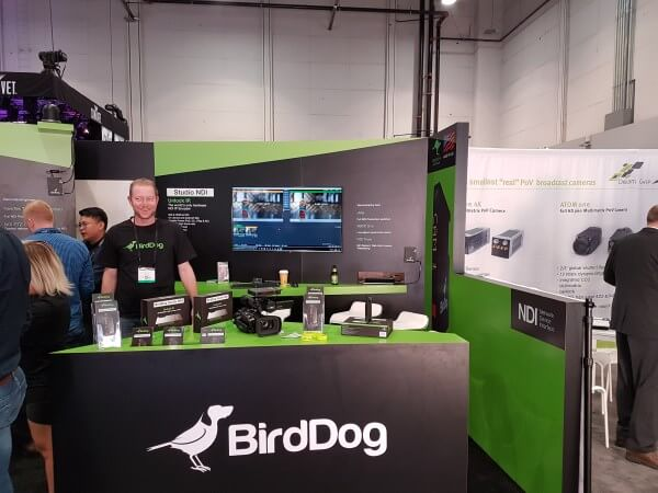 Bird-dog NAB 2017 vMix