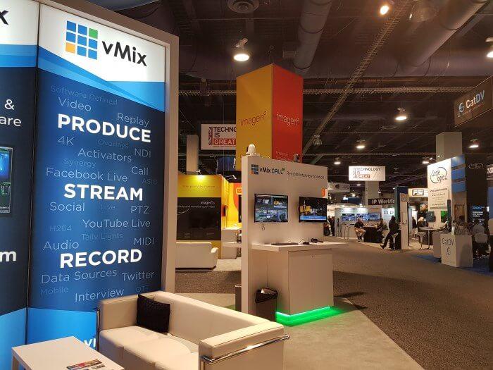 vMix Booth NAB 2017