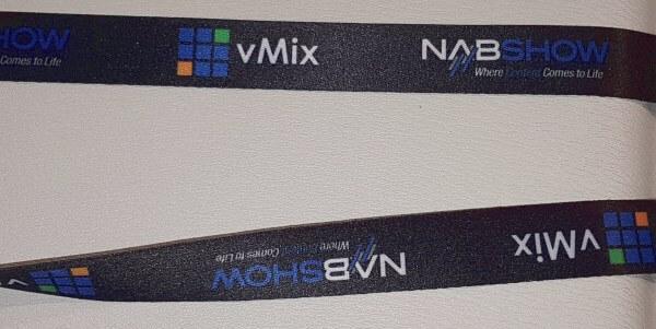 vMix Lanyard NAB 2017