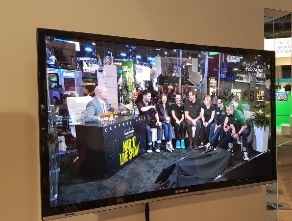vMix Teradek Booth NAB 2017- 2
