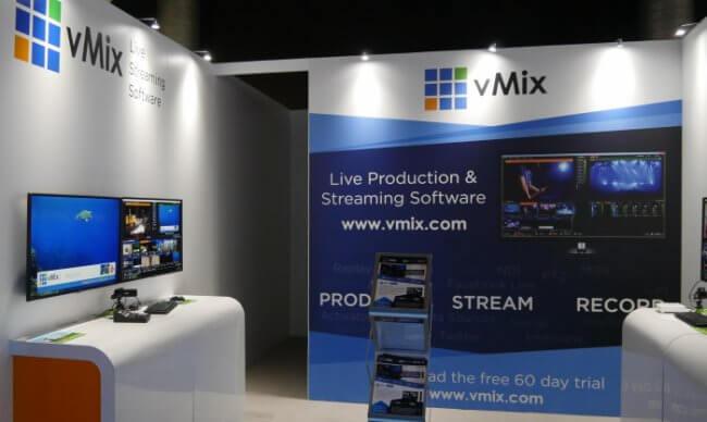 vMix Booth IBC 2017