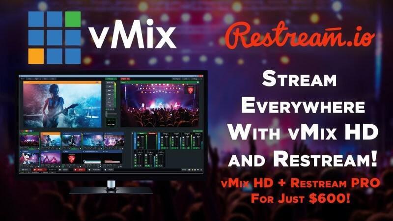 vMix-Restream