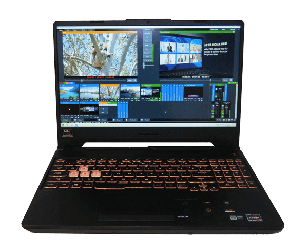 Live streaming Laptops 2020- AMD ASUS TUF Gaming